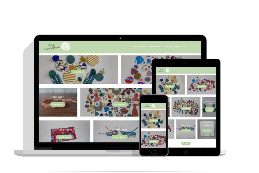 Referenz Virtiv Anna Wunderblume Online Shop